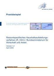 Praxisbeispiel Ressortspezifisches ... - ePractice.eu