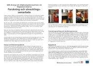 Sammanställning av laboratorieresurser (pdf) - Högskolan Dalarna