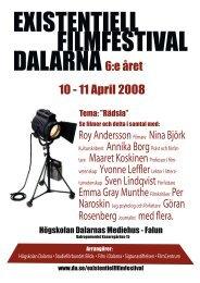 Se broschyr med hela festivalprogrammet som pdf - Högskolan ...