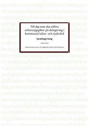 Insulingivning, kompendium (pdf) - Högskolan Dalarna