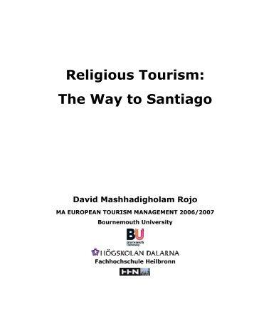 Religious Tourism: The Way to Santiago