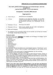 NL Programme and Practical - EPSU