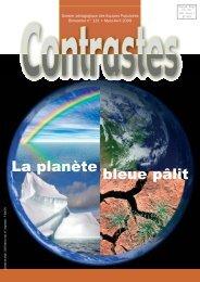 bleue pâlit La planète - Equipes Populaires
