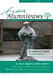 Nummer 1 - Algemene Erasmus Alumni Vereniging