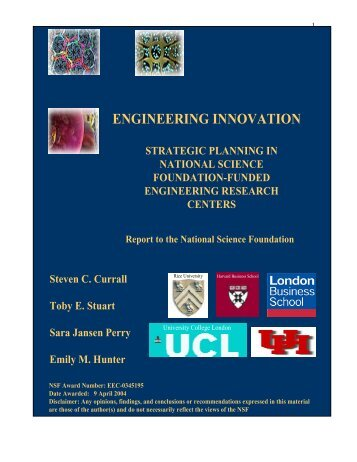 ENGINEERING INNOVATION - ERC Association
