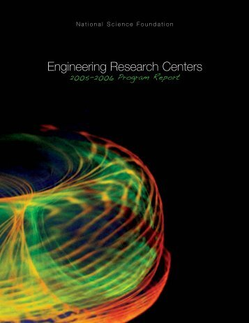 Engineering Research Centers 2005?2006 ... - ERC Association
