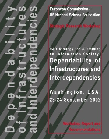 Dependability of Infrastructures and Interdependencies US - ERCIM