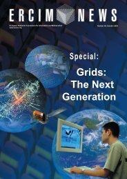 Grids: The Next Generation - ERCIM