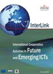and EmergingICTs InterLink - ERCIM