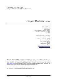Project Web Site (D7.1.1) - Ercim