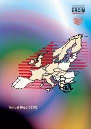 Annual Report 2002 - ERCIM