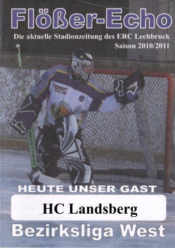 HC Landsberg - ERC Lechbruck