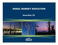GEN101 ? Module 1: Course Overview - ERCOT.com