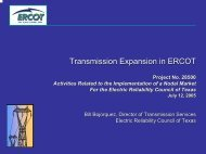 Transmission Expansion in ERCOT - ERCOT.com