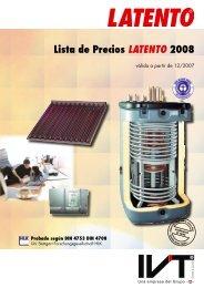 Lista de Precios LATENTO 2008 - Ercyl.com
