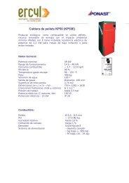 Caldera de pellets KP50 (KP50E) - Ercyl.com