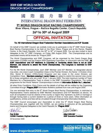 World's Championship - Eastern Regional Dragon Boat Association ...