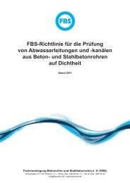 FBS: Guidelines for leak-tightness testing of concrete and reinforced ...