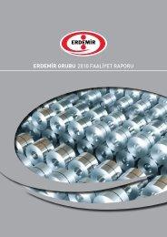 2010 Yılı Faaliyet Raporu - Erdemir