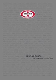 2011 Yılı Faaliyet Raporu - Erdemir