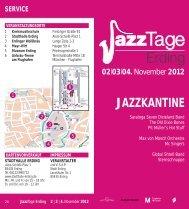 Erdinger Jazz Tage - Stadt Erding
