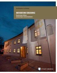 Museum Erding - Sanierung Altbau - Stadt Erding