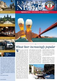 Wheat Beer Increasingly Popular - Erdinger