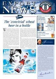 The 'convivial' wheat beer in a bottle - Erdinger
