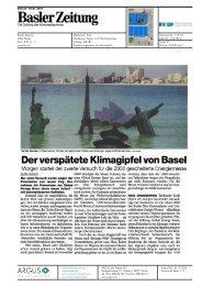 Der verspätete Klimagipfel von Basel