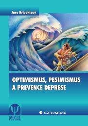 Optimismus, pesimismus a prevence deprese - eReading