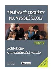 Testy – Politologie a mezinárodní vztahy – e-kniha - eReading