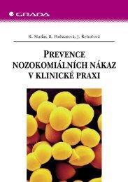Prevence nozokomiálních nákaz v klinické praxi - eReading