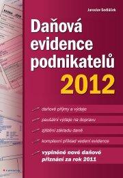 Daňová evidence podnikatelů 2012 - eReading