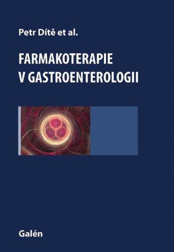 Farmakoterapie v gastroenterologii - náhled - eReading
