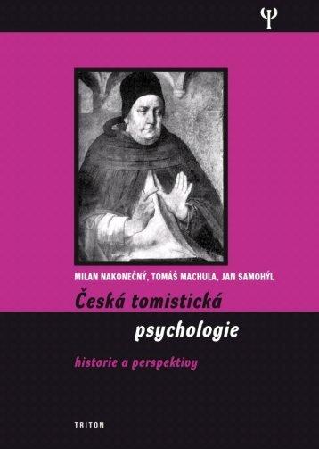 Česká tomistická psychologie - eReading