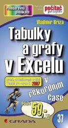 Tabulky a grafy v Excelu - eReading