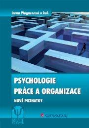 Psychologie práce a organizace - eReading