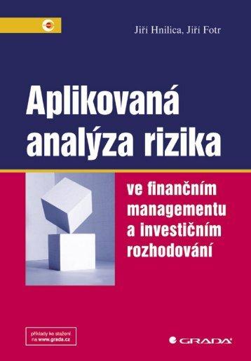 Aplikovaná analýza rizika - eReading
