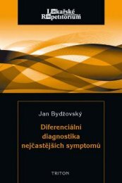 Diferenciální diagnostika nejčastějších symptomů - eReading