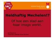 Heldhaftig Mechelen!? - Erfgoedcel Mechelen