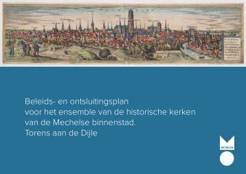en ontsluitingsplan voor het ensemble van de historische kerken ...