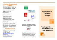 Kompetenz- Training Pflege - Erfolgsfaktor Familie