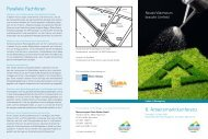 6. Arbeitsmarktkonferenz Parallele Fachforen - Erfolgsfaktor Familie