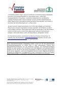 gemeinsamen Pressemitteilung - Erfolgsfaktor Familie - Page 2