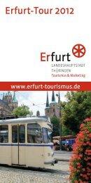 Erfurt-Tour 2012