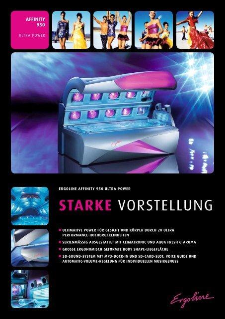 STARKE VORSTELLUNG - Ergoline GmbH
