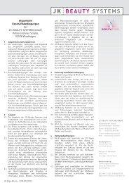 BEAUTY SYSTEMS - Ergoline GmbH