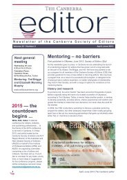 The Canberra editor May-June 2013