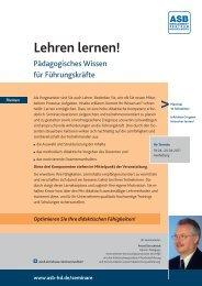 Lehren lernen! - ASB Bildungsgruppe Heidelberg e.V. – Seminare ...