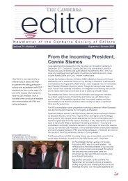 The Canberra editor September-October 2012